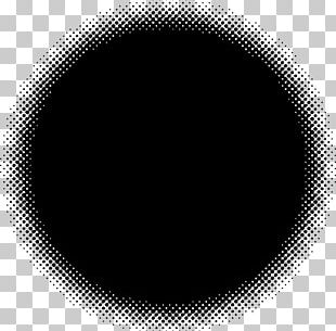 Monochrome Photography Black And White Circle PNG