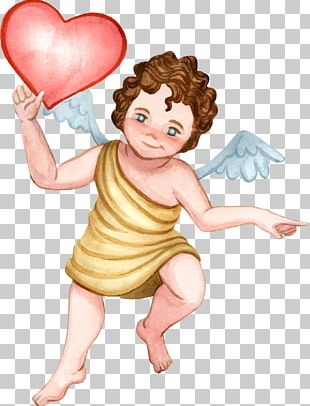 Love Letter Cupid Heart PNG