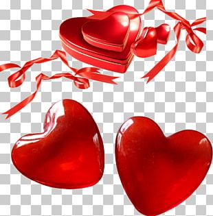 Valentine's Day Gift Heart Love PNG