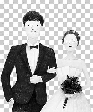 Bride Falling In Love Marriage Wedding PNG
