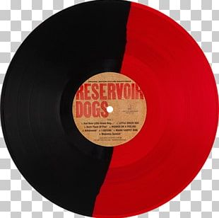 Phonograph Record Red Soundtrack Reservoir Dogs Color PNG
