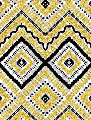 Zigzag Drawing Euclidean Pattern PNG