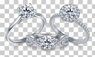 Jewellery Store Engagement Ring Diamond Necklace PNG