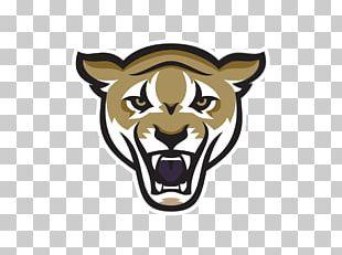 Lion Logo Sporting Goods Mascot PNG