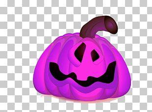 Jack-o-lantern Halloween Pumpkin Illustration PNG