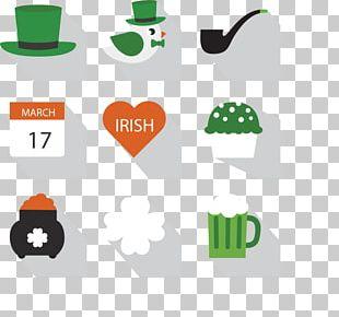 Ireland Saint Patricks Day Icon PNG