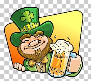 Beer Leprechaun Drink Saint Patricks Day PNG