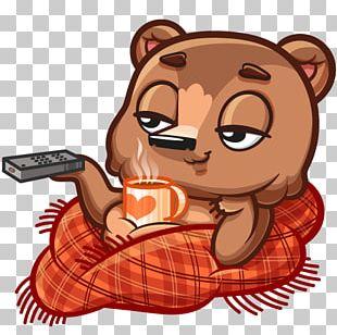 Sticker Chocolate Brownie VKontakte Telegram PNG
