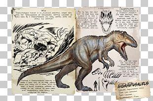 Giganotosaurus ARK: Survival Evolved Gigantosaurus Tyrannosaurus Spinosaurus PNG
