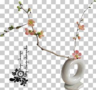 Floral Design Vase Cut Flowers Ikebana PNG