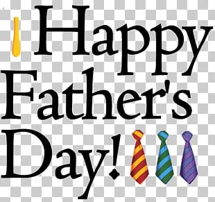 Fathers Day Happiness Wish PNG