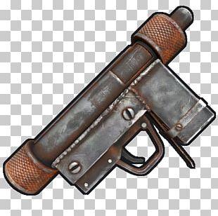 Rust Thompson Submachine Gun Semi-automatic Firearm PNG