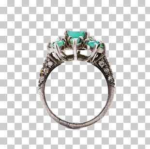 Emerald Ring Jewellery Gemstone Stock Photography PNG