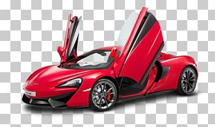 McLaren 540C Coupe 2016 McLaren 570S Sports Car PNG