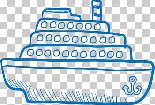 Ship Drawing Boat PNG