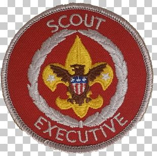 Boy Scouts Of America Scouting United States Marine Corps Chief Scout Executive Embroidered Patch PNG