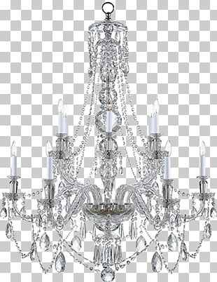 Chandelier Lighting Light Fixture Crystal Pendant Light PNG