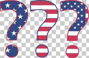 Question Mark United States Election Voting PNG