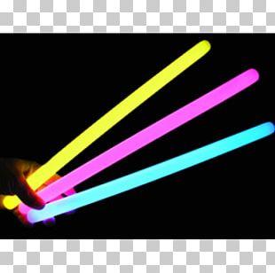 Glow Stick Dive Light Bracelet Party PNG