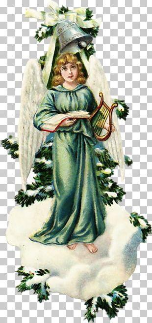 Cherub Angel Christmas Santa Claus PNG
