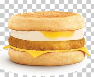 Cheeseburger McGriddles Hamburger Breakfast Sandwich Fast Food PNG