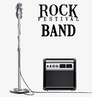 Rock Band Microphone Audio PNG