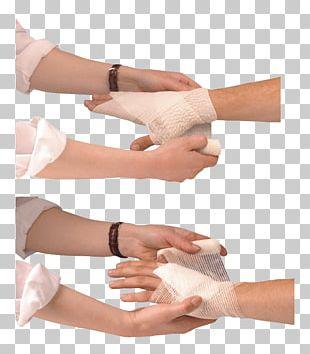 Thumb Wound Bandage PNG