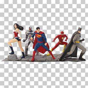 Superman Cyborg Superhero Batman Wonder Woman PNG