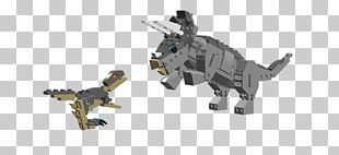Triceratops Tyrannosaurus Velociraptor Dinosaur Lego Minifigure PNG