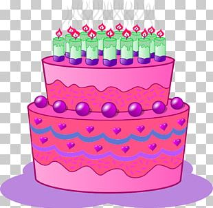 Birthday Cake Cupcake Frosting & Icing PNG