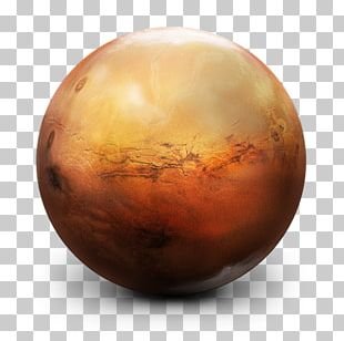 Planet Mars Solar System Icon PNG