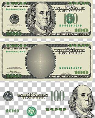 United States Dollar United States One Hundred-dollar Bill United States One-dollar Bill PNG