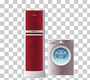 Washing Machine Home Appliance Refrigerator PNG