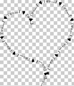 Love Letter Valentine's Day Heart PNG