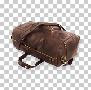 Handbag Leather Baggage Backpack PNG