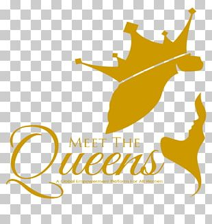 Dust Queen Maid Service Logo Graphic Design PNG