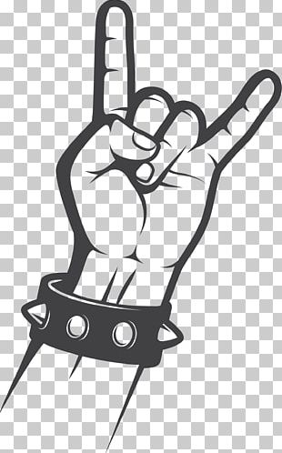 Sign Of The Horns Rock Music Gesture Hand PNG