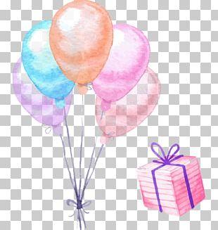 Balloon Christmas Gift Christmas Gift PNG