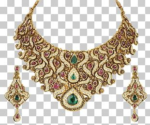 Earring Jewellery Necklace Gold Chain PNG