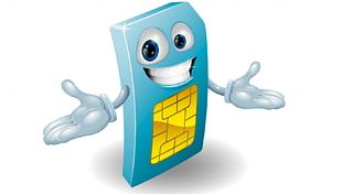 Subscriber Identity Module Mobile Phones Cartoon PNG