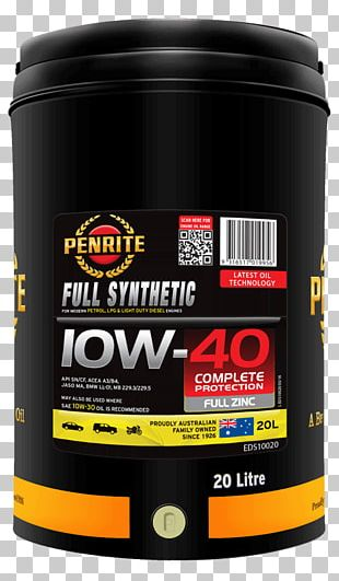 Synthetic Oil Motor Oil Penrite HPR 10 Engine Oil Penrite HPR Diesel 10 Engine Oil Full Synthetic Engine Oil PNG