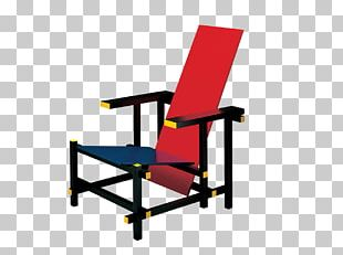 Red And Blue Chair Bauhaus De Stijl Wassily Chair PNG