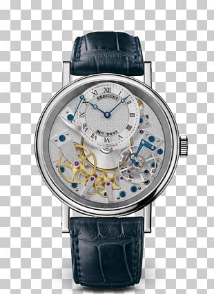 Breguet Automatic Watch Gold Power Reserve Indicator PNG