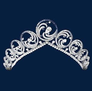 Diamond Tiara Fashion Crown PNG