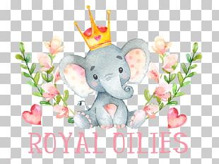 Baby Shower Wedding Invitation Infant Child Elephantidae PNG