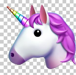 Emoji Unicorn Sticker IPhone PNG