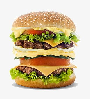 Multilayer Big Mac Burger Salad PNG