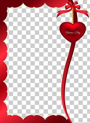 Valentine's Day Frame PNG