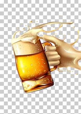 Beer Glassware Beer Bottle PNG