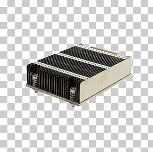 Intel Heat Sink Computer System Cooling Parts Super Micro Computer PNG